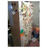 Vintage White 3 Door Cabinet