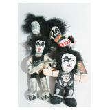 Four Kiss Dolls and Instruments