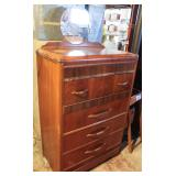 Vintage Chest with Mirror