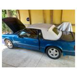 1989 Ford Mustang LX Convertible at Online Auction