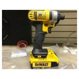 Dewalt Impact Driver, Model Dcf885 W/ 20v Battery