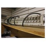 Curved Omotor Led Light Bar, 50 Inch