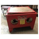 Red Clarke Sand Blasting Cabinet