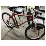 Bicycle, Specialized Rockhopper Model, Red