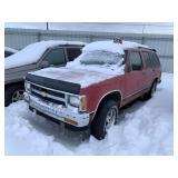 1991 Chevrolet S-10 Blazer Base