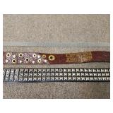 Mens And Womens Belts, Set Of 3