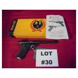 30- Ruger Mark 1, 22 cal, semi, Target Pistol, N.I.B.