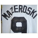 Sports Memorabilia Auction: Bill Mazeroski