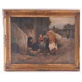 Daniel Ridgeway Knight Oil Painting