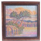 Birger Sandzen Oil Painting
