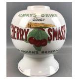 Antique Cherry Smasm Syrup Dispensor
