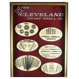 Rare Cleveland Twist Drill co Display