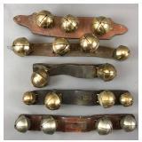 Huge Collection of Antique Brass Bells