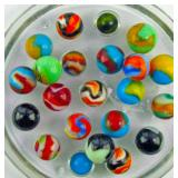 Many nice Lots of Vintage Peltier Marbles