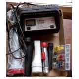 Flashlights, Fuses, Battery Charger