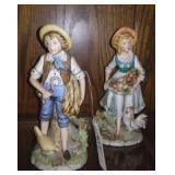 Homco Figurines