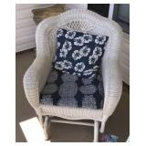 Wicker Porch Chair