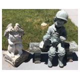 Yard Statues