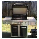Outdoor Gas Powered Grill