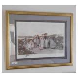 """""""berry Pickers"""" Framed Print"""