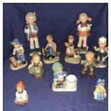 Porcelain Children Figurines