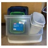 Storage And Waste Bins