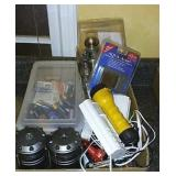 Batteries, Lights, Door Knob Set