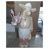 Ceramic Pig Utensil Holder