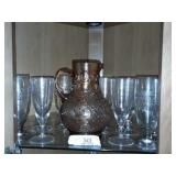 Pitcher And Water Glasses