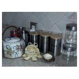 Canisters And Decor Items