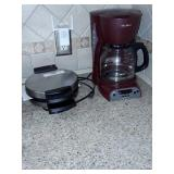 Coffee Maker And Waffle Maker
