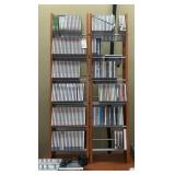 Cd Storage Shelfs With Cds
