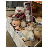 Dolls And Crib