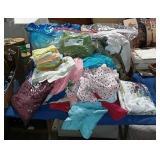 Table Cloths, Wash Cloths, Clothes Etc...