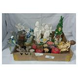 Candles, Incense Burners, Figurines Etc...