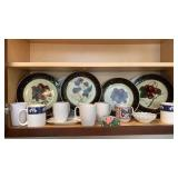 Decorative Plates And Cups