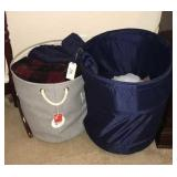 Laundry Hampers And Blankets