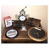 Alarm Clocks, Wall Clocks And Cordless Phone
