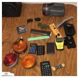 Flashlight, Reflectors, And Weather Radio