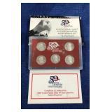 2008 Silver Quarter Proof Set