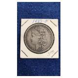 1889 Morgan Dollar. O Mint. 90% Silver