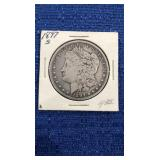 1897 Morgan Dollar.  S Mint 90% Silver