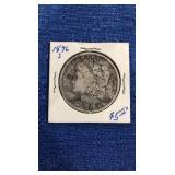 1896 Morgan Dollar. S Mint 90% Silver