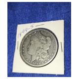1899 Morgan Dollar. Uncirculated S.mint 90% Silver