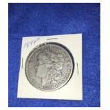 1899 Morgan Dollar. Uncirculated O.mint 90% Silver