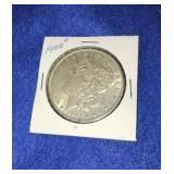 1900 Morgan Dollar. Uncirculated O.mint 90% Silver