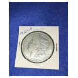 1921 Morgan Dollar. Uncirculated S.mint 90% Silver