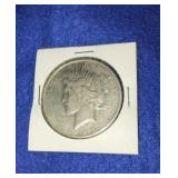 1925 Peace Dollar. Uncirculated S. Mint  Silver