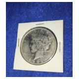 1922 Peace Dollar. Uncirculated D. Mint Silver
