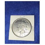 1935 Peace Dollar. Uncirculated S. Mint Silver